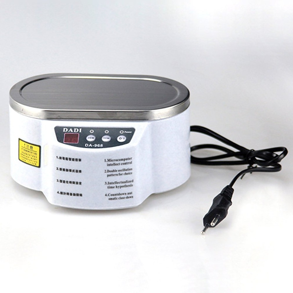 Smart Ultrasonic Cleaner Anti-Slip Stainless Steel Ultrasound Wave Washing For Jewelry Glasses Ultrasound Bath Machine