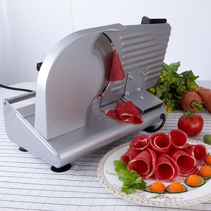 MS-305C acier inoxydable Électrique trancheuse Tranches tranches de mouton Couper les fruits et légumes Coupés tranches de pain Viande machine de découpe