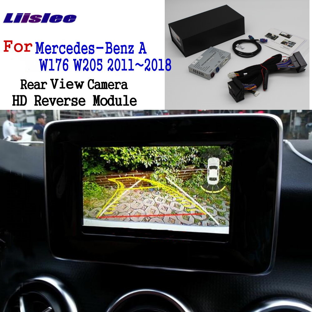 Liislee Rear View Camera For Mercedes-Benz A W176 W205 2011~2018 Adapte Original Screen upgrade Display backup Camera Decoder(China)