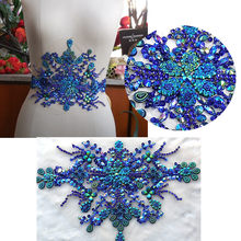 Popular Royal Blue Rhinestone Applique-Buy Cheap Royal Blue ... 3b5170c8175d