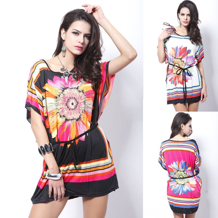 Buy Cheap Brand Casual Fashion Print Summer Dress Tropical Quality Summer Style Vestidos De Festa Chiffon Women Dress Femininas