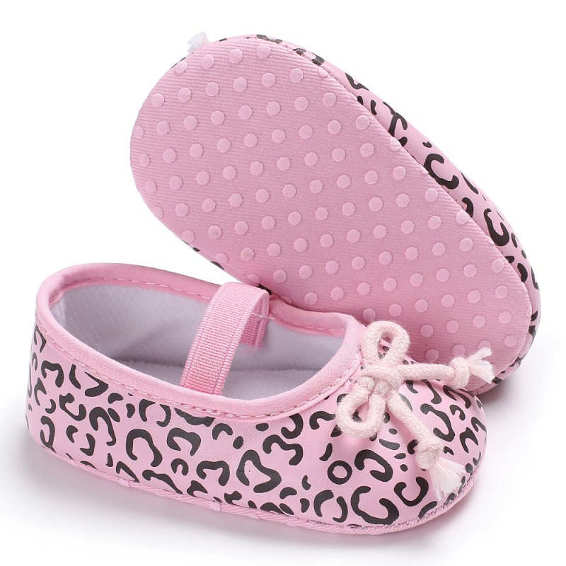 Baby Girls Bowknot Princess Toddler Shoes Autumn First Walkers Lovely PU Shoes