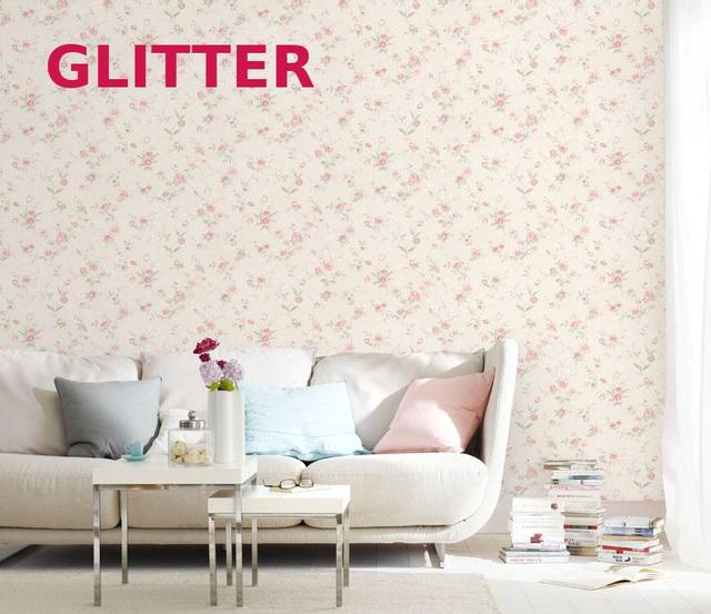 Pastoral style pink flowers wallpaper girl bedroom background flower pastoral style pink flowers wallpaper girl bedroom background flower wallpaper child pink plant 3d embossed wallpaper mightylinksfo