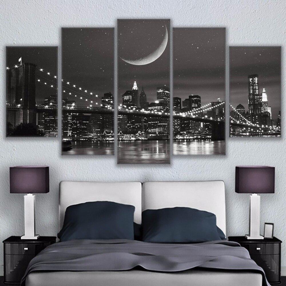 Malerei Abstrakte Kunst Rahmen Wand Modulare Bild Für Wohnzimmer ...