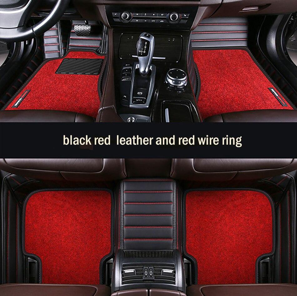 Custom car floor mats High elastic wire mat For Honda all models CRV XRV Odyssey Jazz city Crosstour S1 Crider vezel