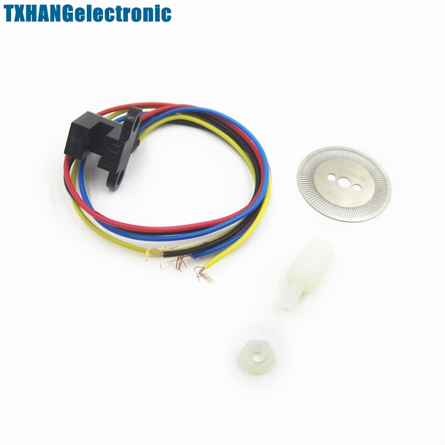 US $2 86 6% OFF|Photoelectric Speed Sensor Encoder Coded Disc code wheel  for Freescale Smart car-in Integrated Circuits from Electronic Components &