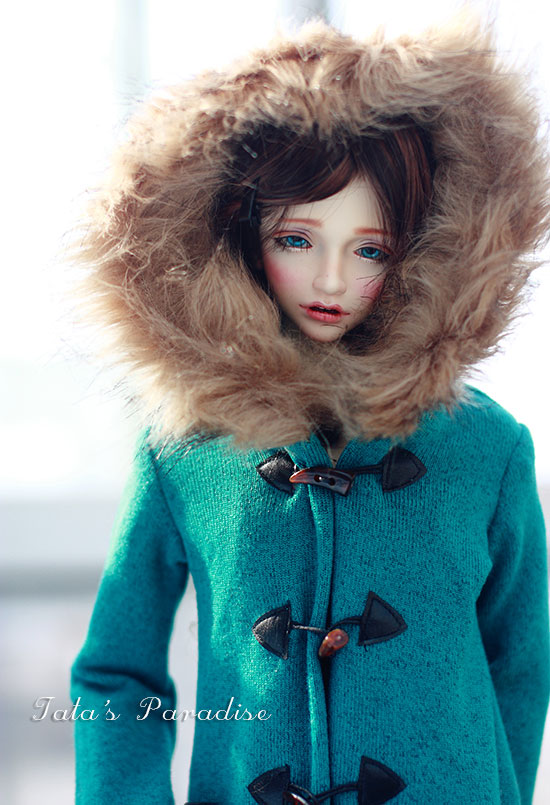Fashion Green camel coat  For BJD 1/3,SD17, Uncle Doll Clothes Accessories fashion black turtleneck sweater for bjd 1 3 sd17 uncle doll clothes accessories