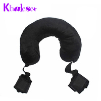 new sex toys Fuzzy Body Harness Wrist Ankle HandCuffs sex Pillow Restraint Slave Bondage Leg Open Adult Games Sex Products