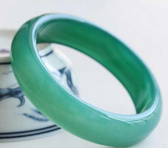 צמידי ירקן ברקת טבעית ירוק 1213 + + + ברזיל DYY