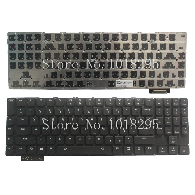 NEW!!! English FOR Lenovo Gaming Y900 Keyboard Backlit US No Frame new for lenovo