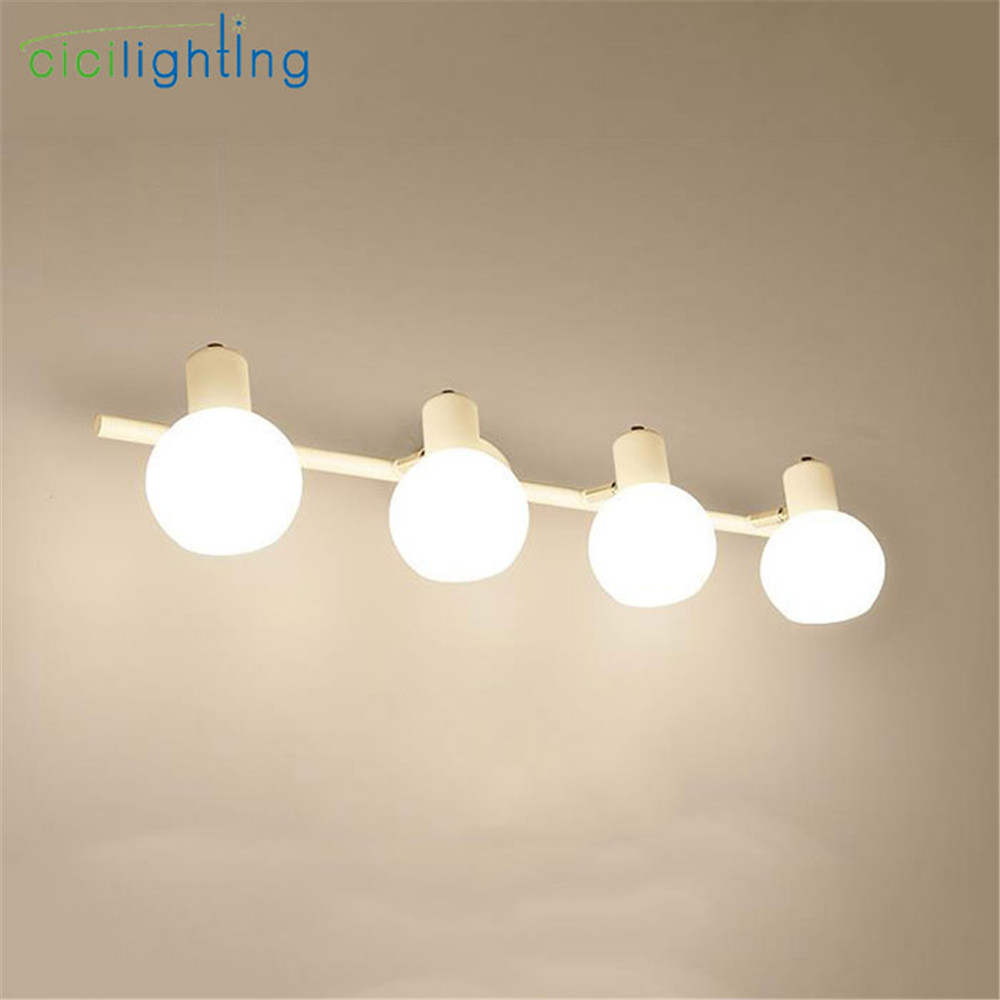 American Style White LED Cabinet mirror front light Modern bathroom toilet make-up mirror cabinet lamp living room wall lights zx modern acryl led mirror wall lamp waterproof and anti fog cabinet mirror light bathroom toilet dressing room make up lamp