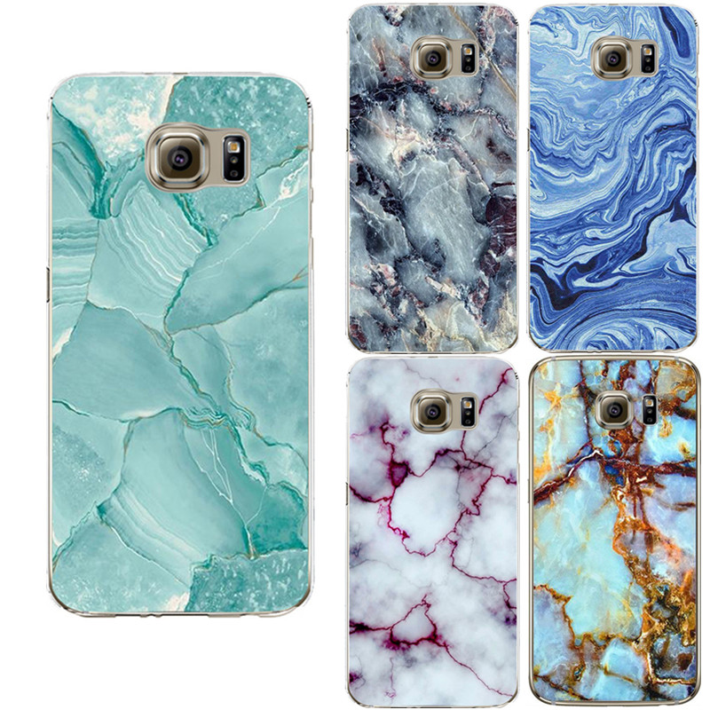 Marble Image Coque Case For Samsung Galaxy S3 S4 S5 S6 S7