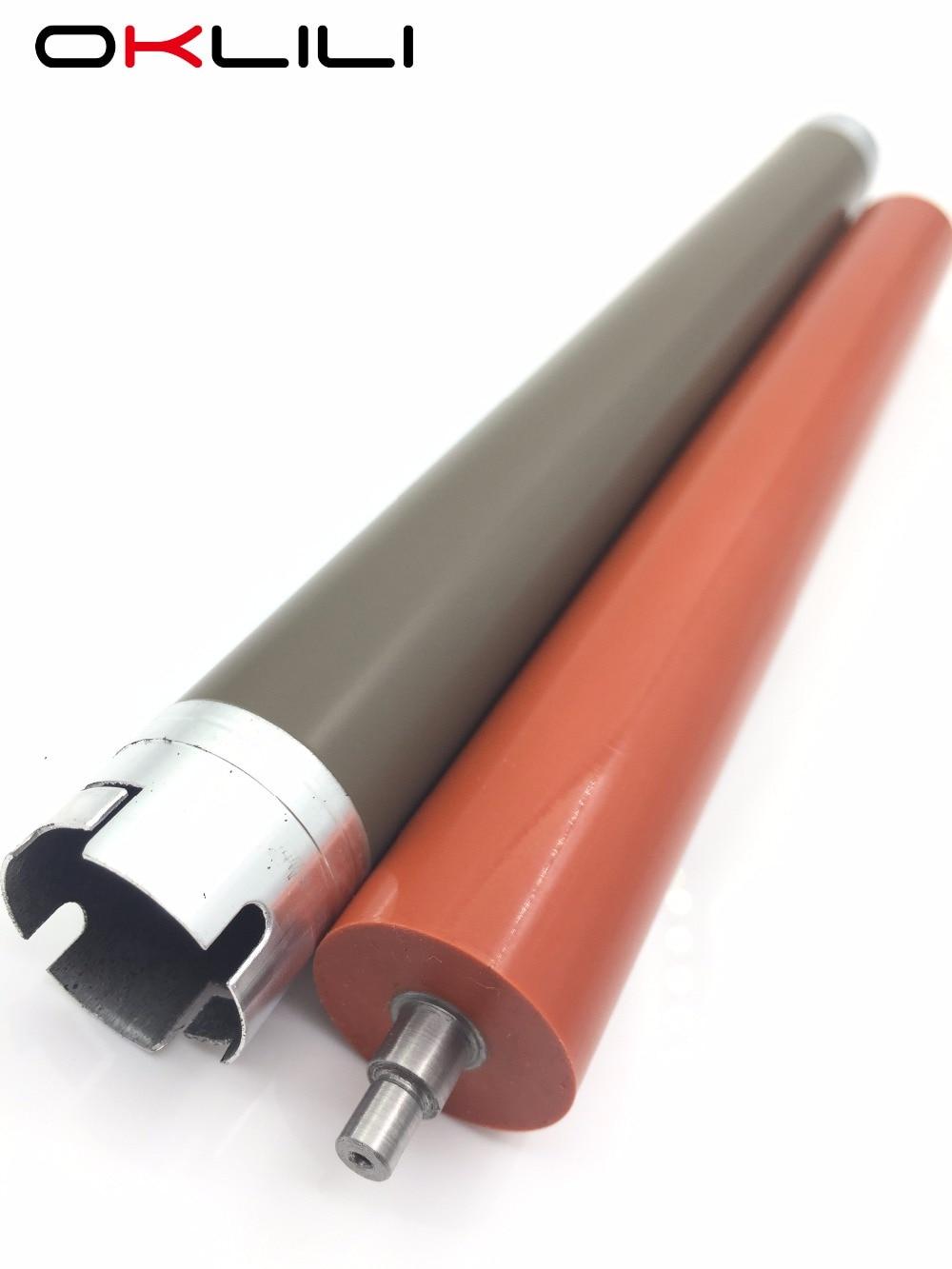 1SET X Upper Fuser Roller + Lower Pressure Roller For Brother DCP 8060 8065 8070 8080 8085 HL 5240 5250 5270 5280 5340 5350 5370