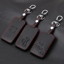 Thie2e الجلود سيارة حقيبة غطاء للمفاتيح سيارة التصميم غطاء لرينو كادجار كليو لوجان ميجان 1 2 3 كوليوس المناظر الطبيعية الخلابة بطاقة المفاتيح