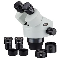 AmScope 3.5X-90X Binocular Zoom Power Stereo Microscope Head   SM3590B