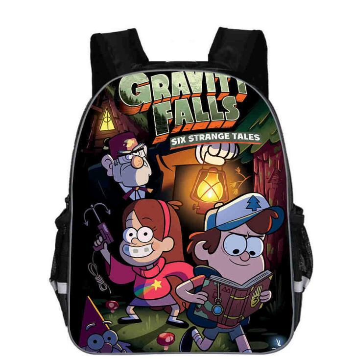 Cartoon Gravity Falls Backpack For Girls Children School Bags Baby Toddler Mabel Bag Kids Kindergarten Backpack Gift