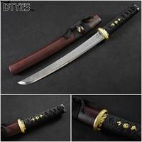 Reale Katana Spade High Manganese Steel Samurai Sword Handmade Katana Espada Samurai Japonesa Katana Sword Battle Ready