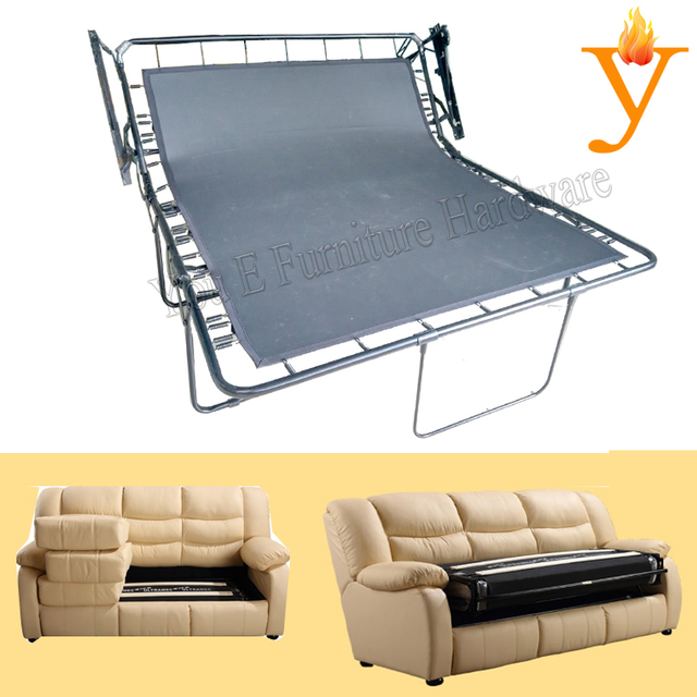Furniture Parts Modern Folding Sofa Bed Frame Mechanism With Oxford G01