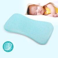 Baby Shaping Pillow Prevent Flat Head Infants Memory Foam Bedding Pillows Child Boy Girl Orthopedic Massage Cushion 0 24 Month