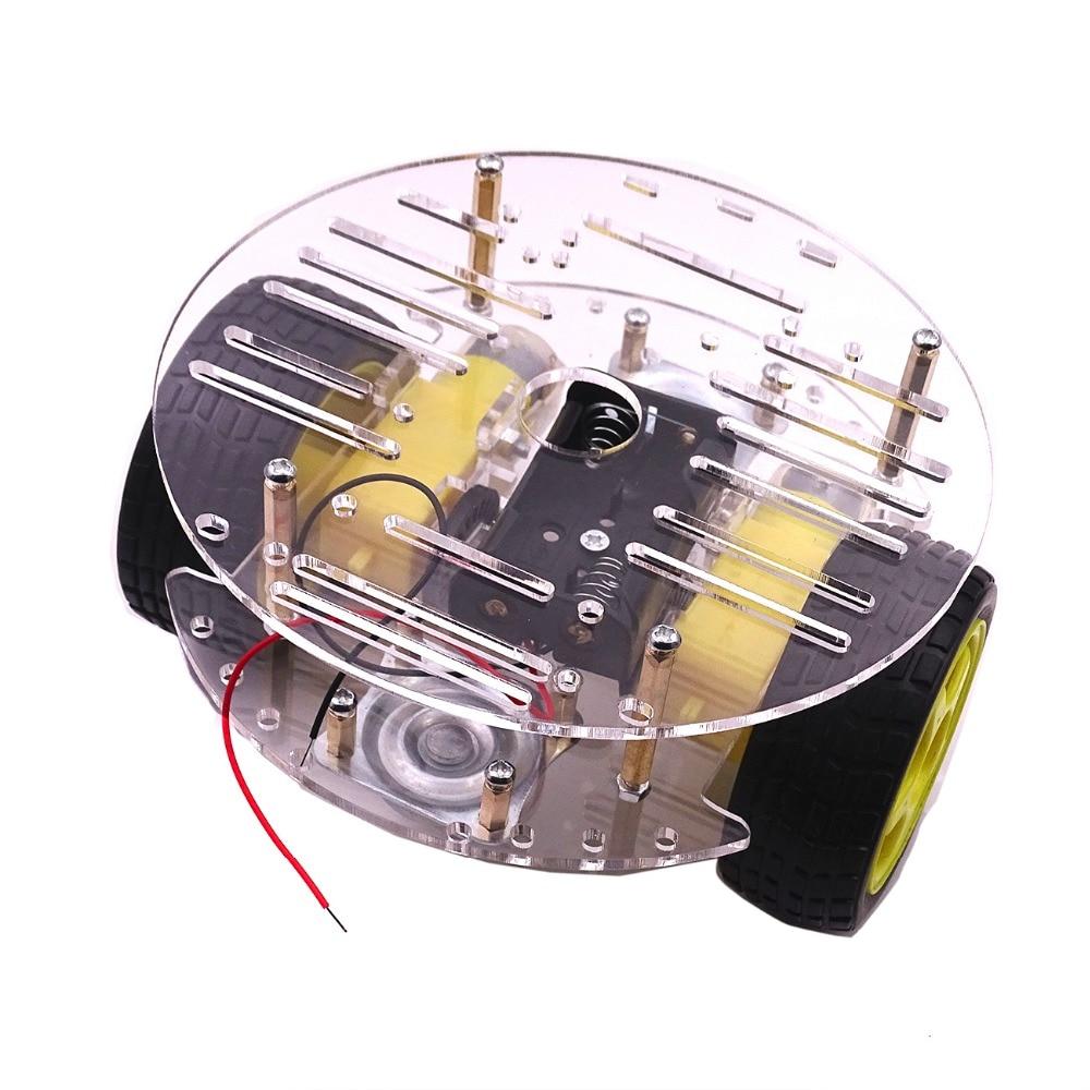 Obstacle-Avoiding Arduino Robot | Microcontroller Tutorials