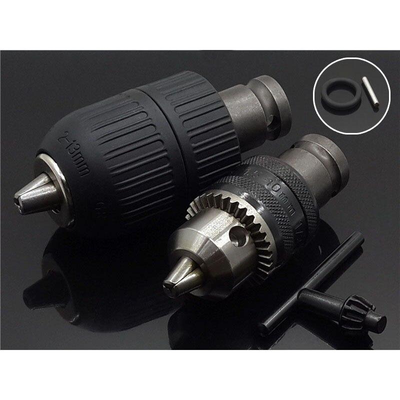 2-13MM 1//16-1//2 Drill Chuck Keyless Drilling Adapter Converter SDS Adaptor