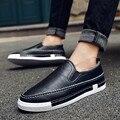 2016 Новый Замши Повседневная Обувь Зима Плюшевые Теплые Ботинки Человек Корейский Скольжения На Обувь Для Ходьбы Мокасины Мода Zapatillas Hombre