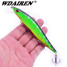 WDAIREN Minnow Fishing Lure 14g/22.5g Floating Artificial Hard Bait Bass Wobblers Lures Crankbait Pike Treble Hooks tackle(China)