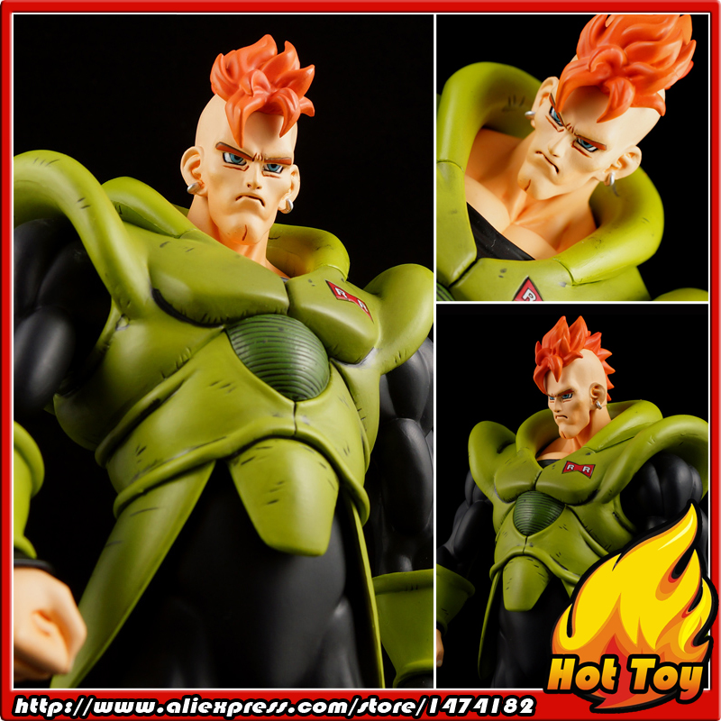 100% Original Banpresto Scultures BIG Zoukei Tenkaichi Budoukai1 Vol.6 Collection Figure - Android 16 from Dragon Ball Z original banpresto world collectable figure wcf the historical characters vol 3 full set of 6 pieces from dragon ball z