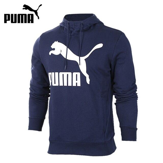 c94fe6b0fb Original New Arrival 2018 PUMA Archive Logo Hoody PRINT TR Men s Pullover  Hoodies Sportswear