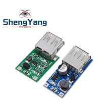 ShengYang DC-DC USB Ausgang ladegerät step up Power-Boost-Modul 0,9 V ~ 5V bis 5V 600MA USB mobile Power-Boost-Board blau