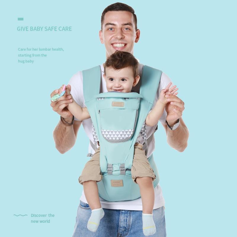 ainomi new design waist stool walkers ergonomic baby sling hold and waist belt backpack