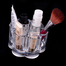 Make Up Cosmetic Storage Transparent Acrylic Container Bathroom Jewelry Case Makeup Pen Box Organizer