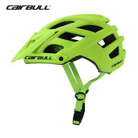 2018 Cairbull TRAIL RS EVO Bicycle Helmet IXS OFF Road MTB Helmet with Visor 55 61cm Sports Safety TRAIL XC Cycling Helmet Green