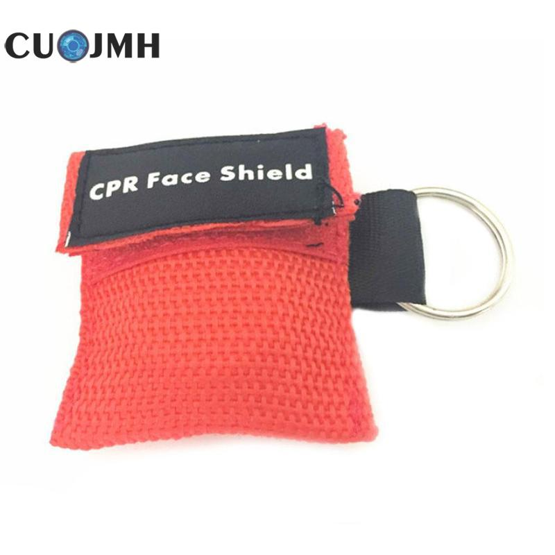 1 Pcs Key Ring Respirator Personal Protection One-way Valve Artificial Mouth Breathing Tools 6 Colors Cpr First Aid Face Mask pro skit dp 3616 professional diy soldering aid tools 6 pcs