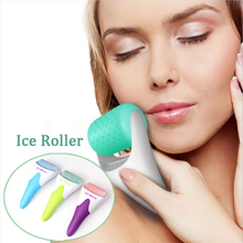 цена на Ice Roller Skin Cool Derma Roller Massager for Face Body Massage Facial Skin Care Preventing Wrinkle Dermo Roller Beauty Machine
