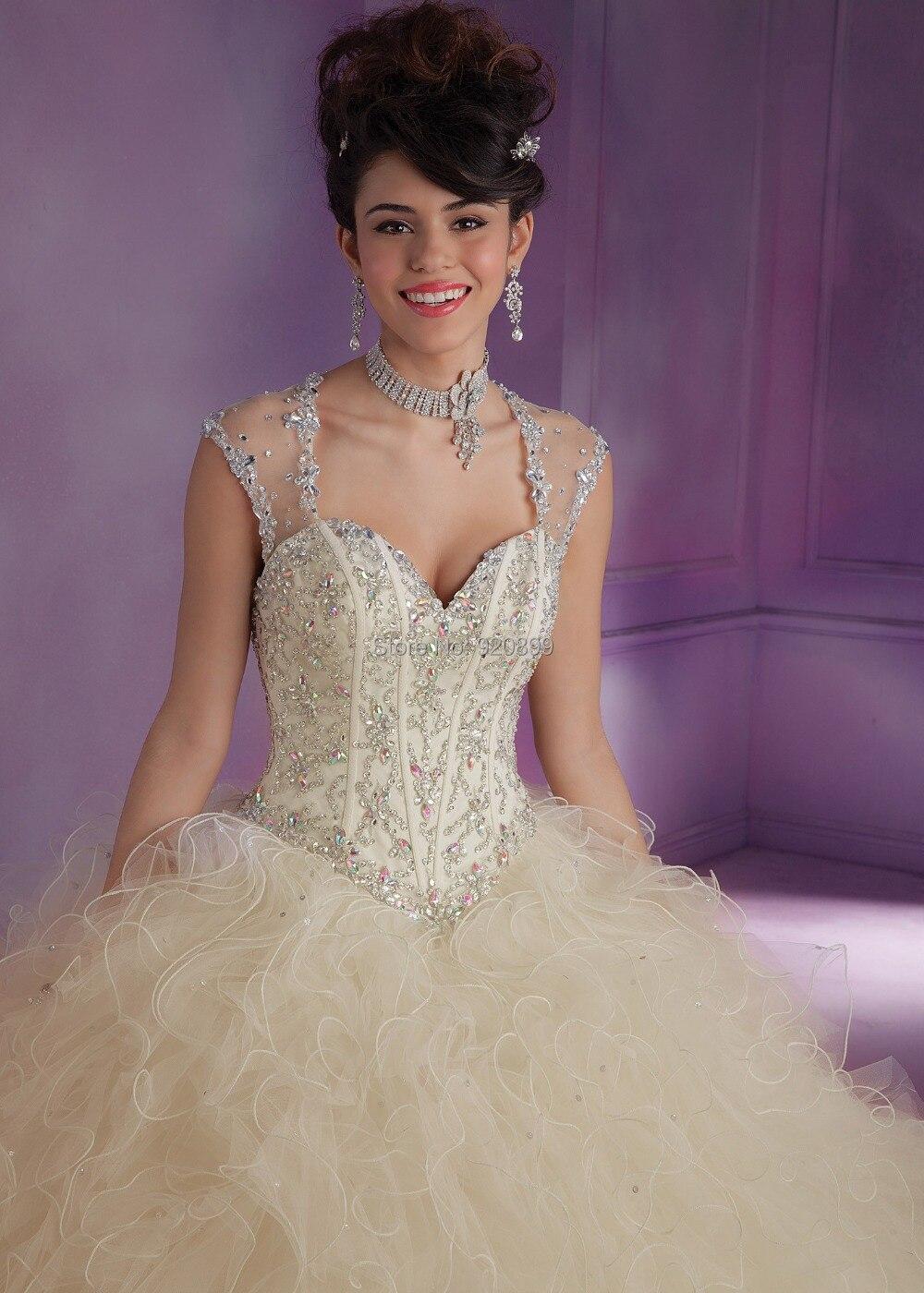 Moderno Vestidos De Boda De La Princesa Con El Bling Ideas - Ideas ...