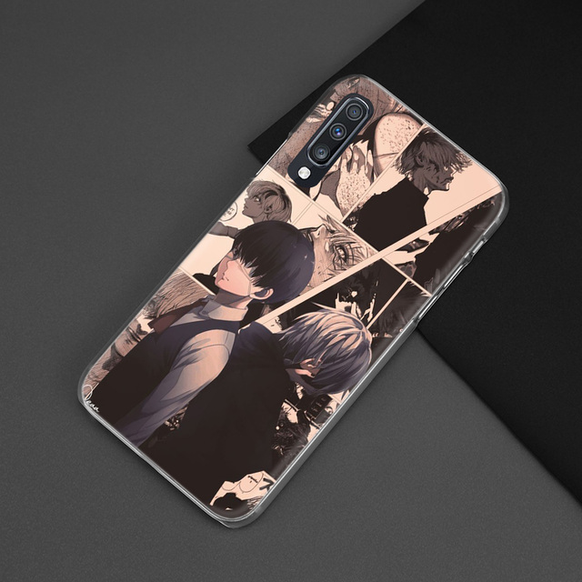 Tokyo Ghoul Case for Samsung Galaxy A50 A8 A6 Plus A70 A20e A40 A30 A20 A10 A9 A7 2018