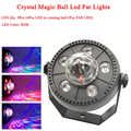 11W RGB LED Kristall Magic Ball Led Bühne Lampe DJ KTV Disco Laser Licht Party Lichter Sound IR Fernbedienung control Weihnachten Projektor