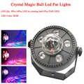 11W RGB LED bola mágica de cristal Led lámpara de escenario DJ KTV Disco luces de fiesta láser sonido IR remoto control de Navidad para proyector