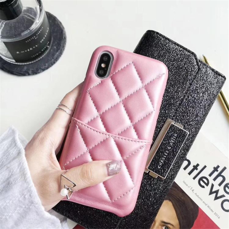 Luxury Leather Phone Case For iphone XS Max XR X Back Cover for iphone 8 Plus 6 6s Plus 7 Plus Case Wallet With Card Pocket in Fitted Cases from Cellphones Telecommunications