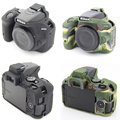 NEW Soft Silicone Rubber Camera Protective Body Cover Case Skin For Nikon D5500 Camera Bag