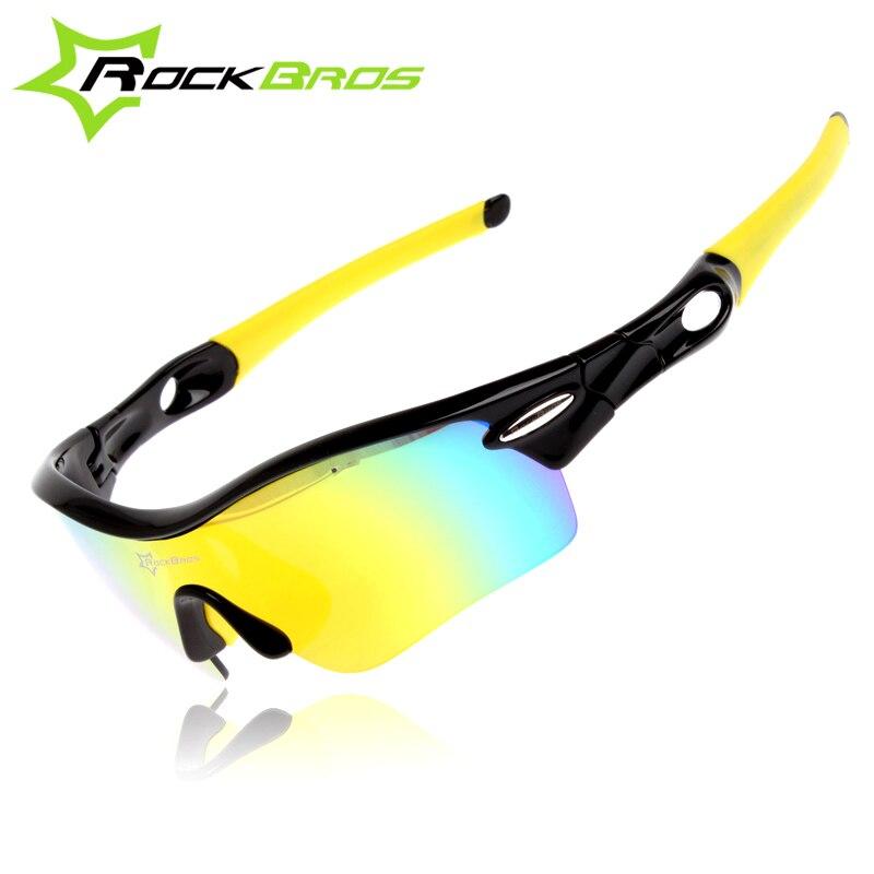 ca5fe76466c4a ROCKBROS 2018 Homens Mulheres Polarized Óculos Ciclismo Bicicleta Óculos  com 5 Lentes Óculos Ciclismo Mtb Ciclismo Esporte óculos de Sol