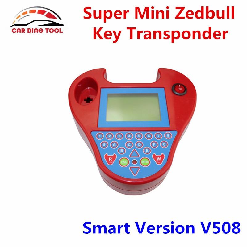 Prix pour Nouvelle Arrivée V508 Smart Mini ZedBull Professionnel OBD2 Auto Key Transpondeur Programmeur Mini Zed-bull Zed Bull Jetons Non limitée