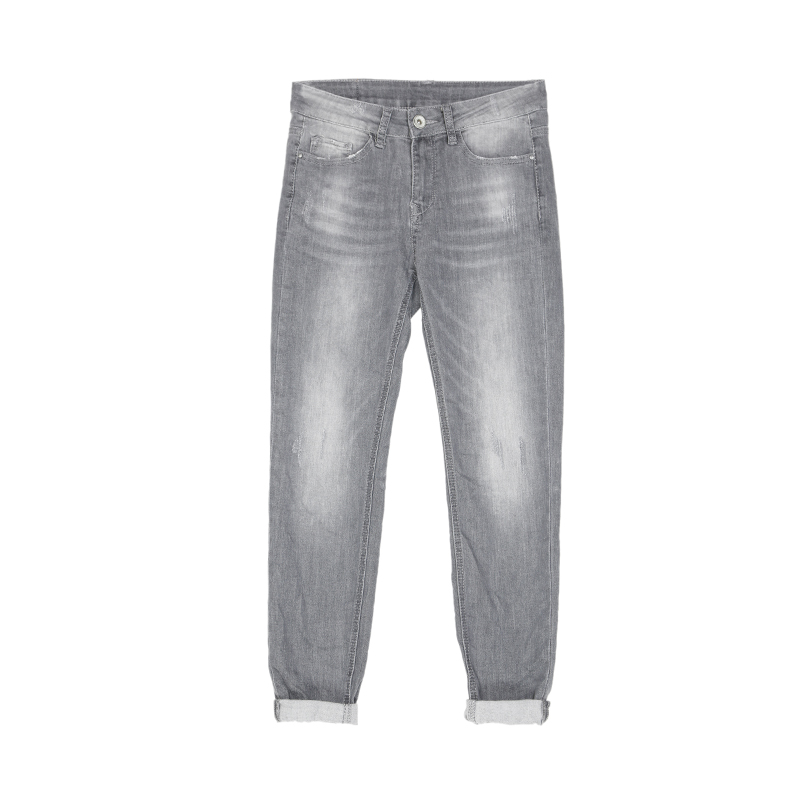 My Will Jeans Mid-Rise Tight-Fitting High-Elastic Cotton Denim Pop Jeans 6788 Made In China