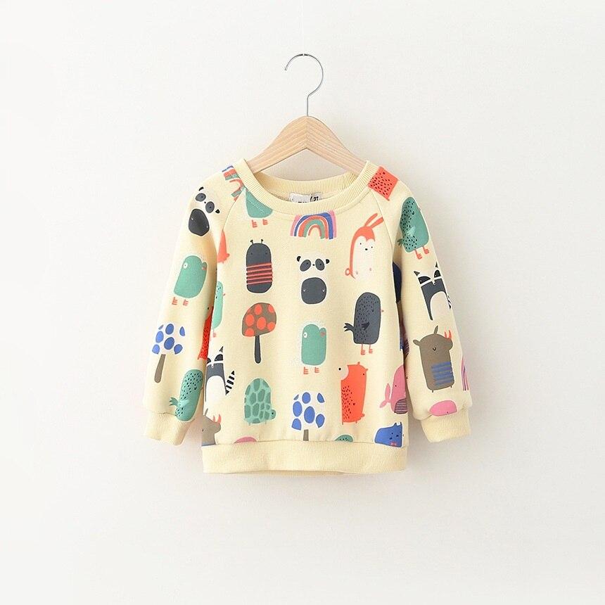 9686833f2efa Boy Girl sweatshirt character print long sleeve pullover cacual ...