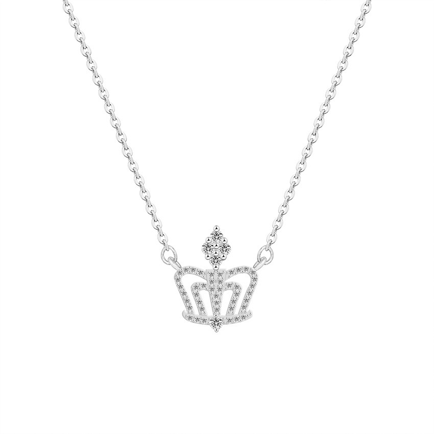 Detail Feedback Questions about Kind and Queen Classic Crystal Princess  Crown Necklaces For Women Wedding Jewelry Ketting Bridesmaid Gifts Collier  Bijoux ... 820f3872fcc2