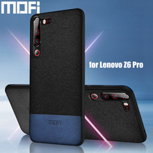 for Lenovo Z6 Pro case cover global protective back cloth fabric silicone capas coque MOFi original cases