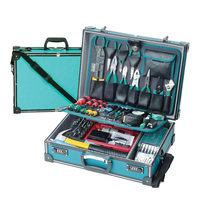 New Pro'sKit 1PK-1990B 107 In 1 Professional Electronic Maintenance Tools Group Kit Electrician Maintenance Welding Tools Sets
