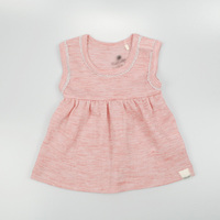 Merino wool baby girl dress kids clothes