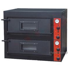 Komercyjne piekarnik elektryczny 2-warstwy ekspres do pieczenia wielofunkcyjny Pizza chleb ciasto maszyna do pieczenia Converyor piec do pizzy 380 V 8.4KW